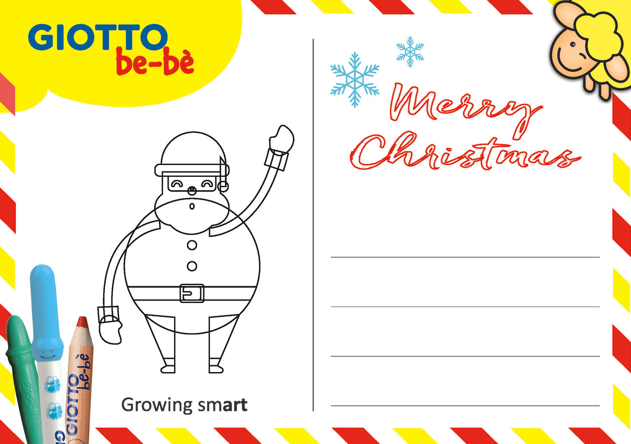 Christmas card GIOTTO be-be'