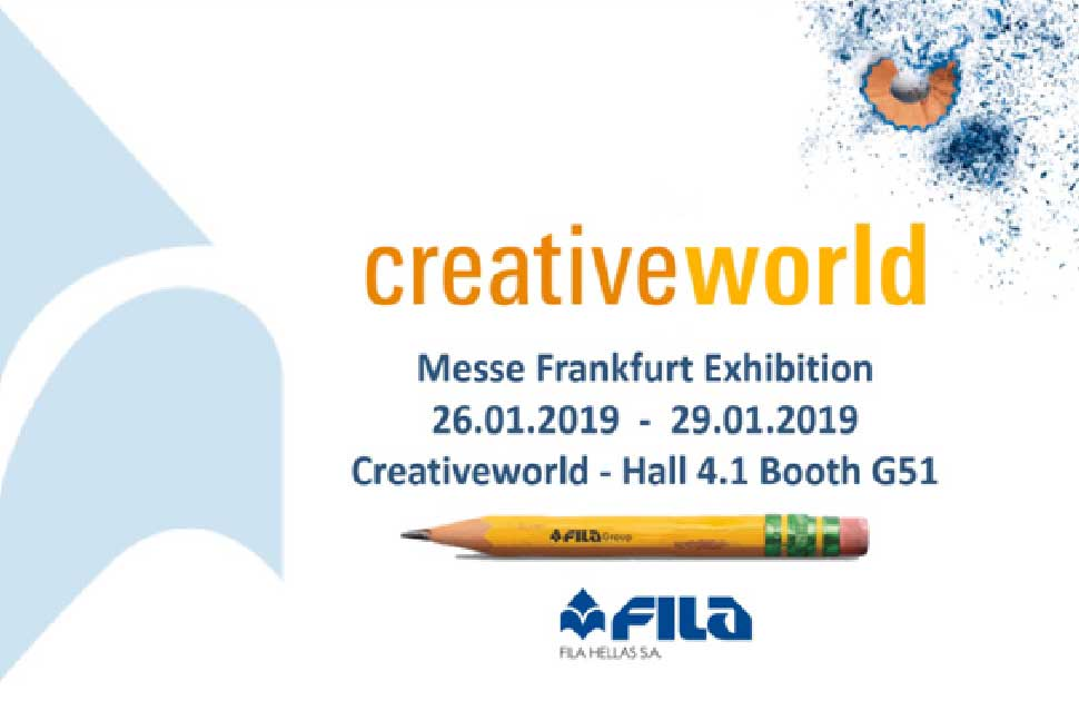 Fila Hellas will participate in Creativeworld 2019!