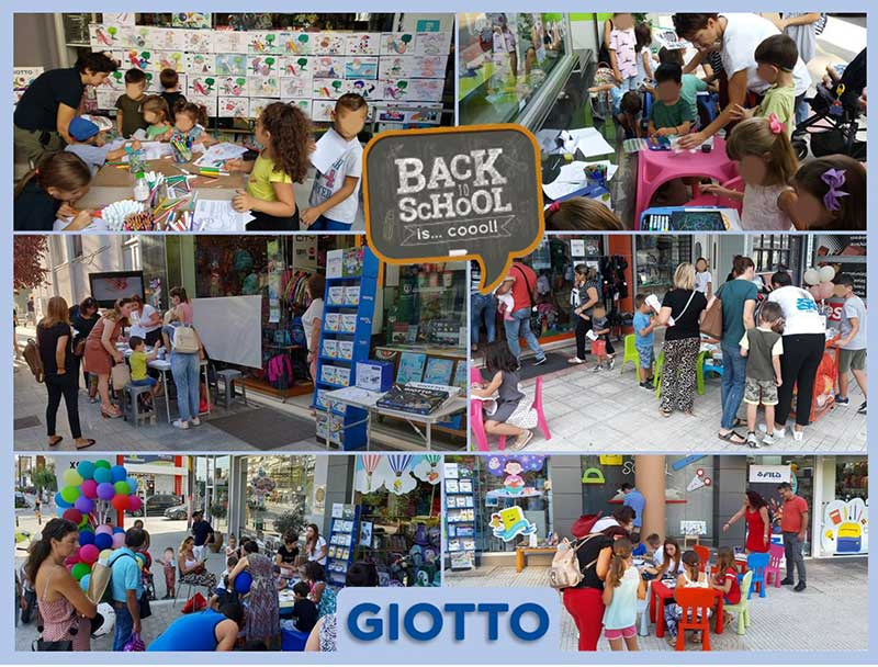 Back to School with…Giotto and Fila!